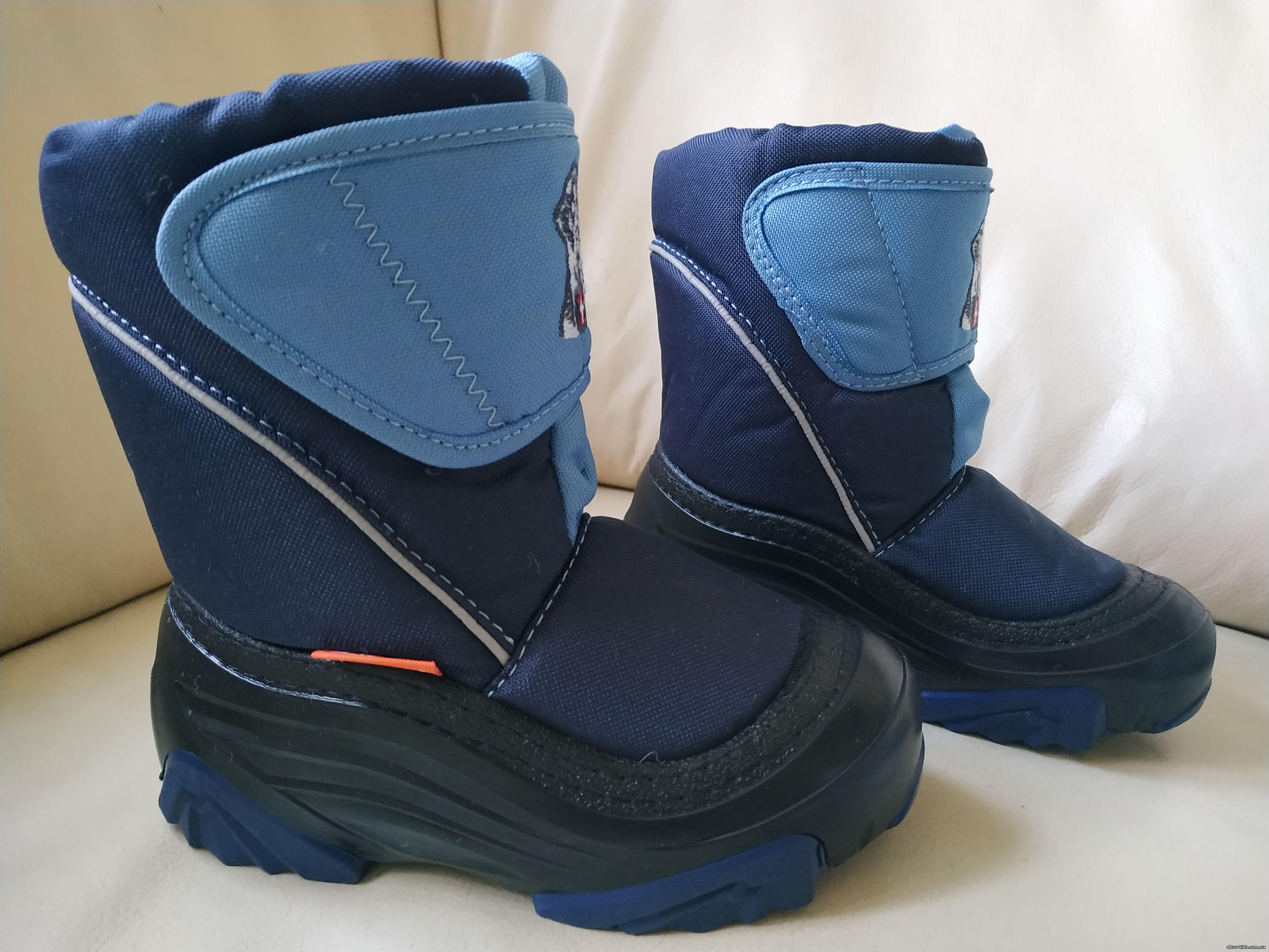 Зимние детские Демары, сапоги, дутики, сноубутсы, ботинки Демар