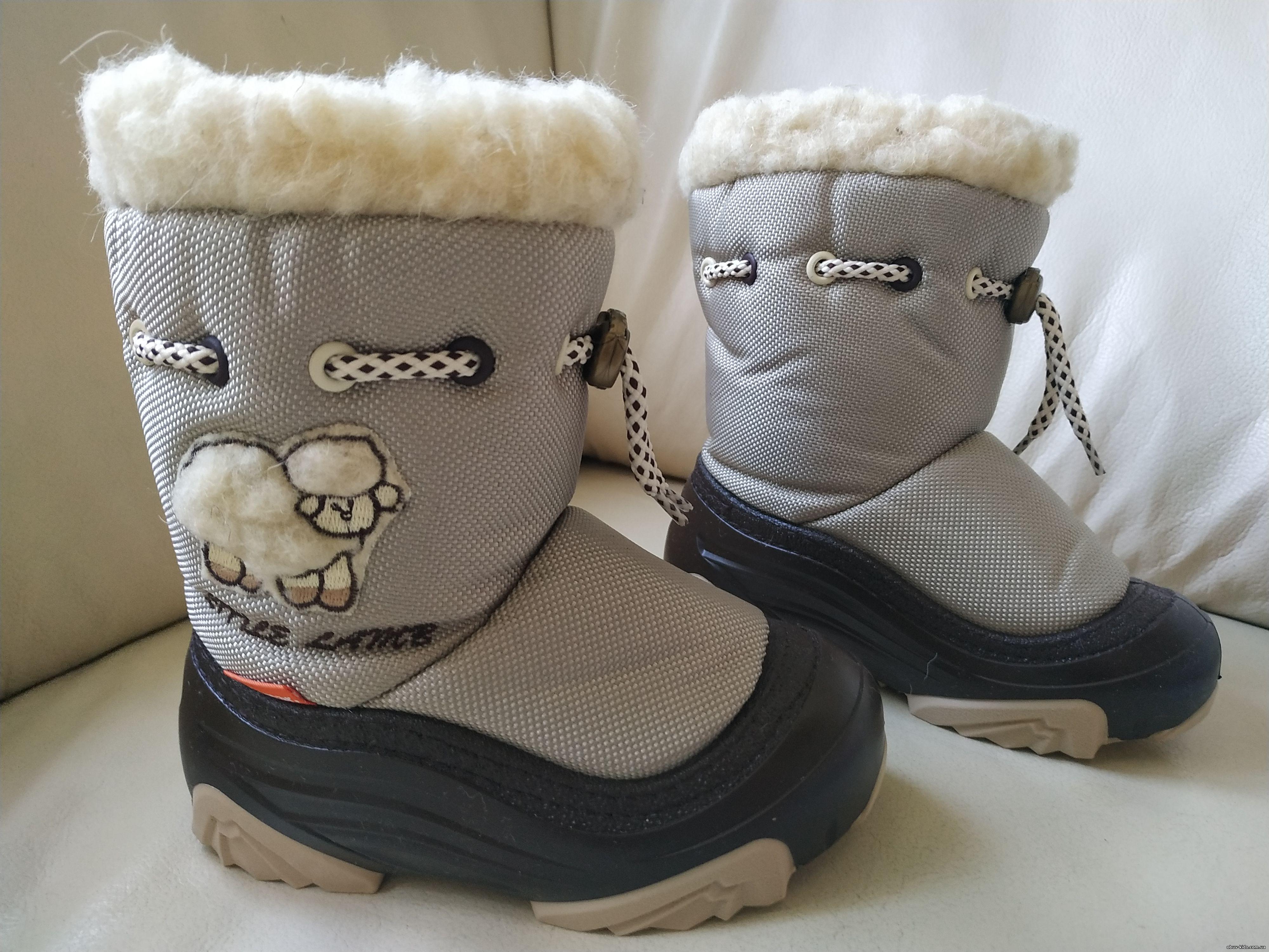 Зимние детские сапоги, дутики-Демары, сноубутсы, ботинки Демар